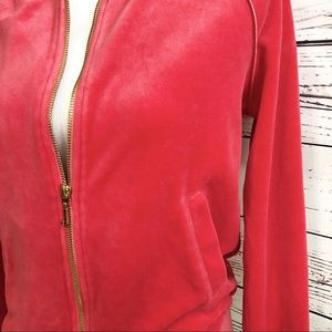 Juicy Couture Jackets & Coats - $CLEARANCE$ Juicy Couture Velour Zip Up Jacket